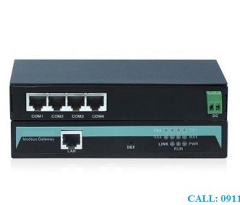 Bộ Chuyển Đổi RS232/485/422 Sang Ethernet Modbus Gateway